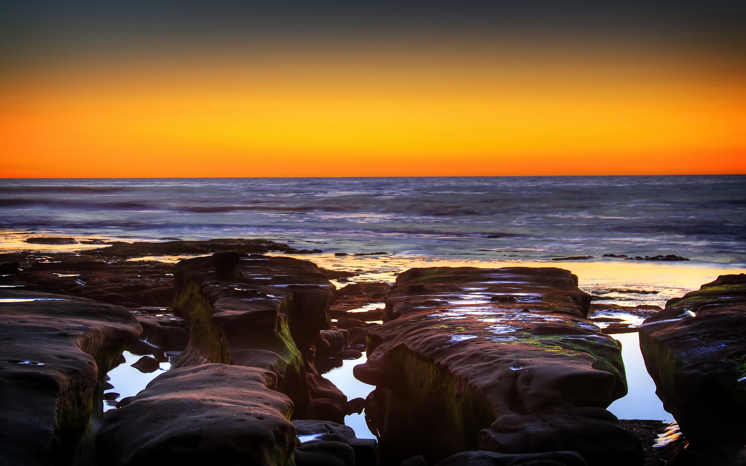 La Jolla Cove Sunset Wallpapers