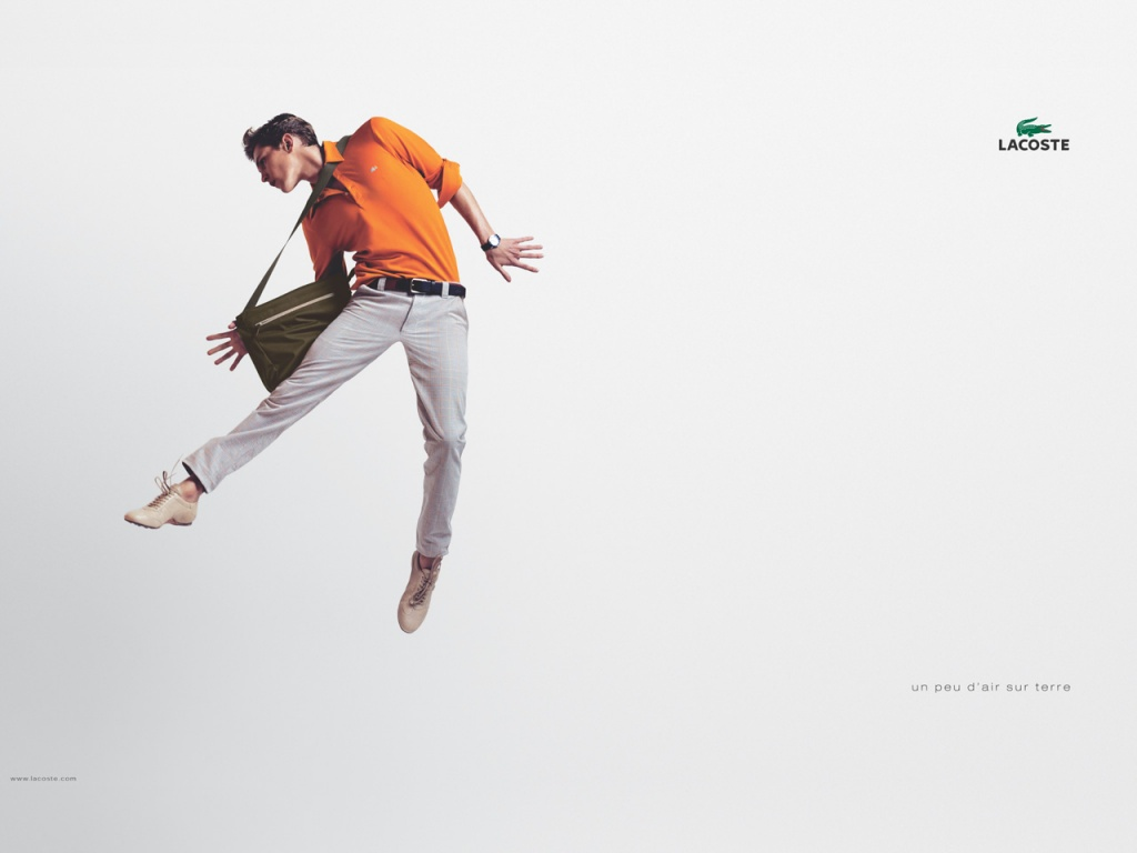 1024x768 LACOSTE flying man desktop wallpapers and stock photos