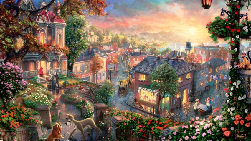 825x315 Lady The Tramp Facebook Cover Photo