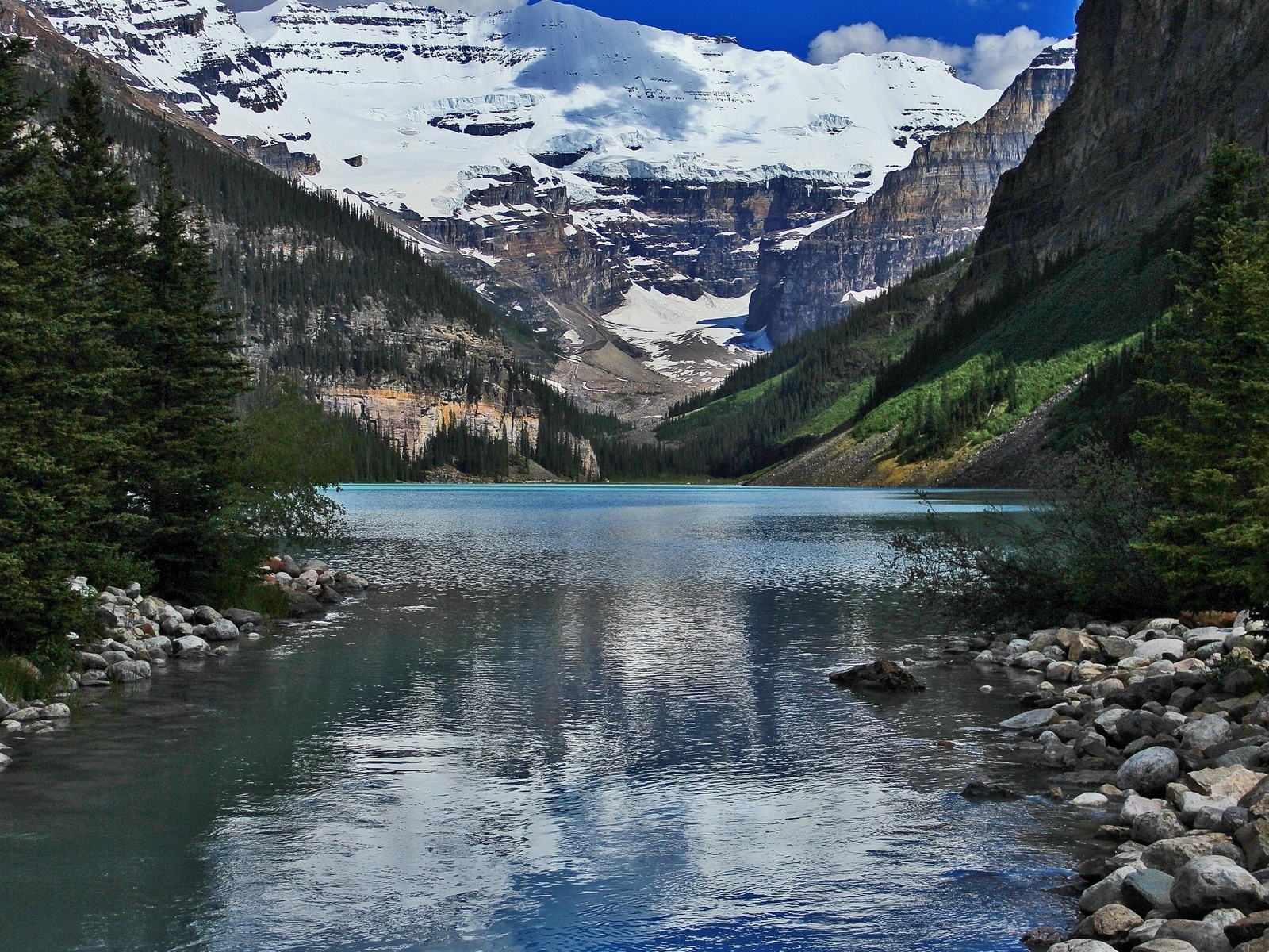 1600x1200 lake louise alberta canada desktop pc and mac for Home wallpaper canada