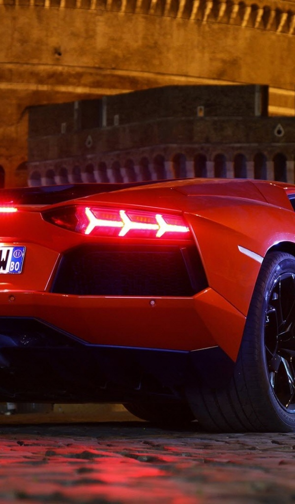 600x1024 Lamborghini Aventador Cars Galaxy Tab 2 Wallpaper