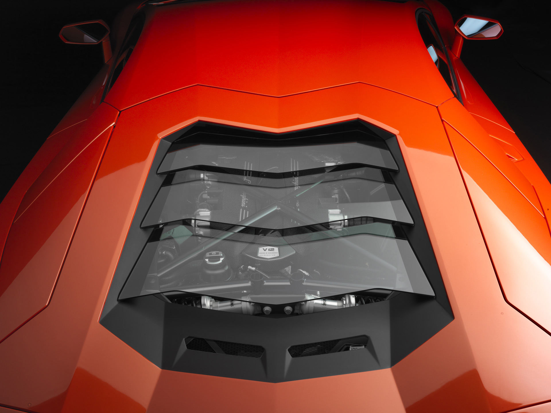 Image Lamborghini Aventador LP 700 4 Engine Cover Wallpapers And Stock Photos