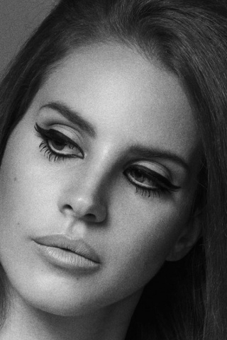 Lana Del Rey Iphone Wallpaper Black And White | www ...