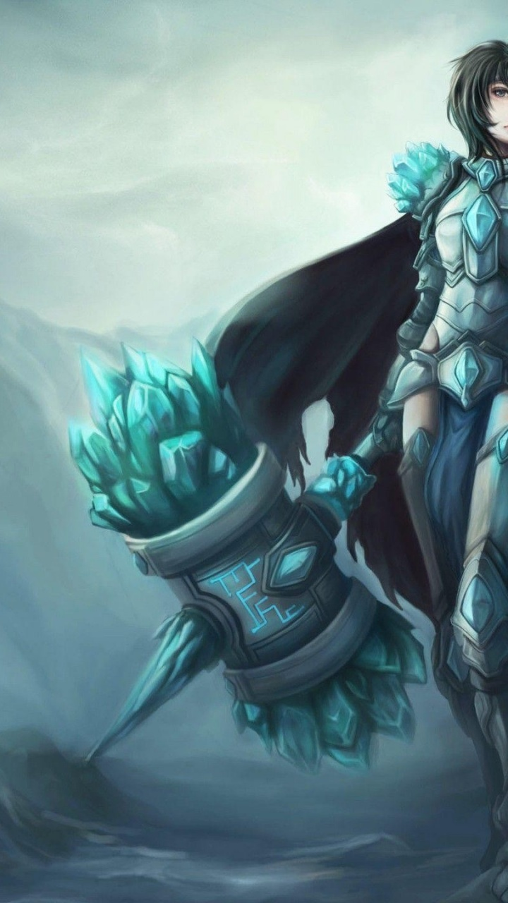720x1280 league of legends hero artwork galaxy s3 wallpaper
