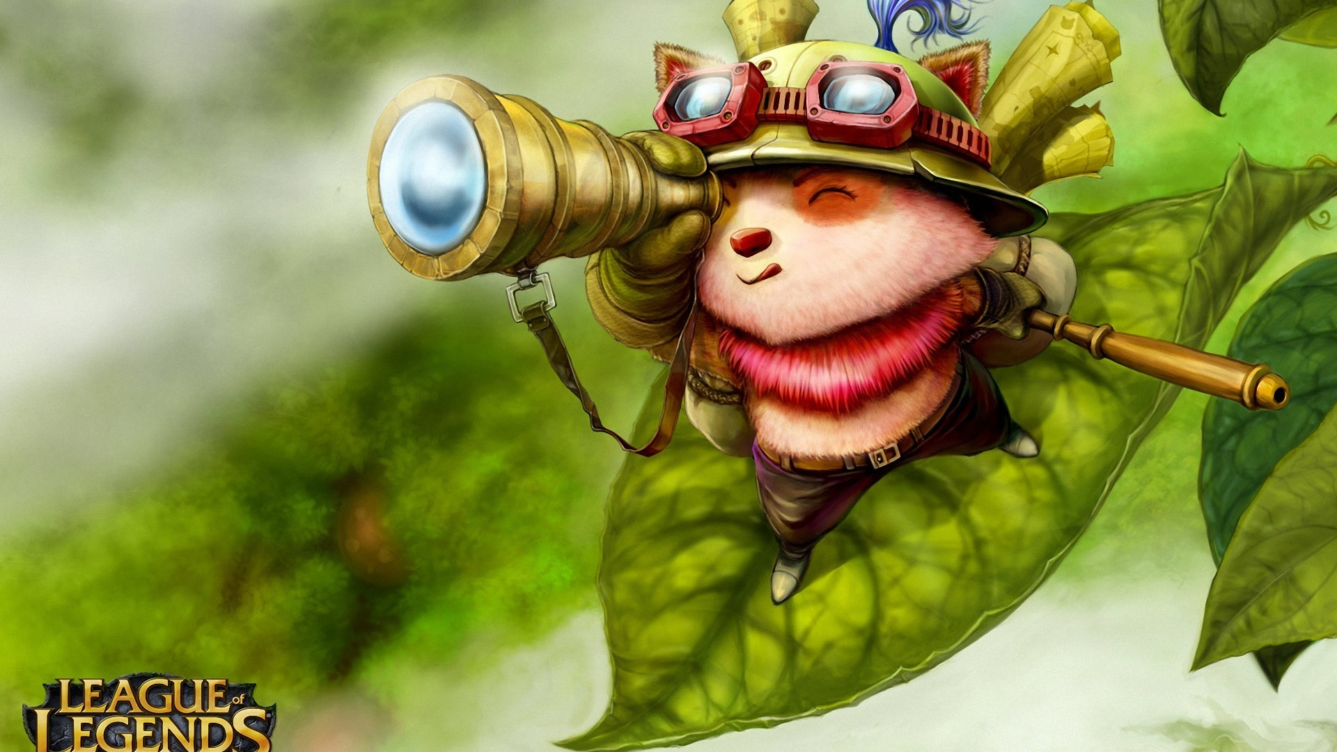 1920x1080 League of Legends Teemo desktop PC and Mac wallpaper