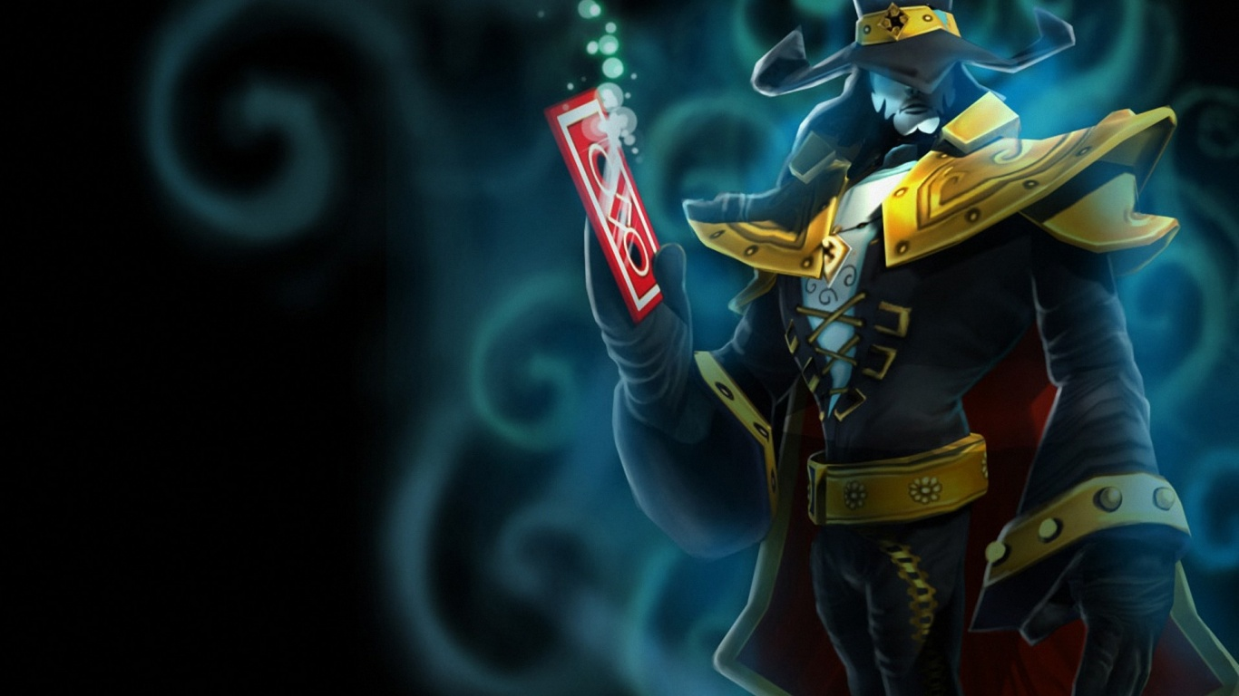 1366x768 League Of Legends Twisted Fate Desktop Pc And Mac