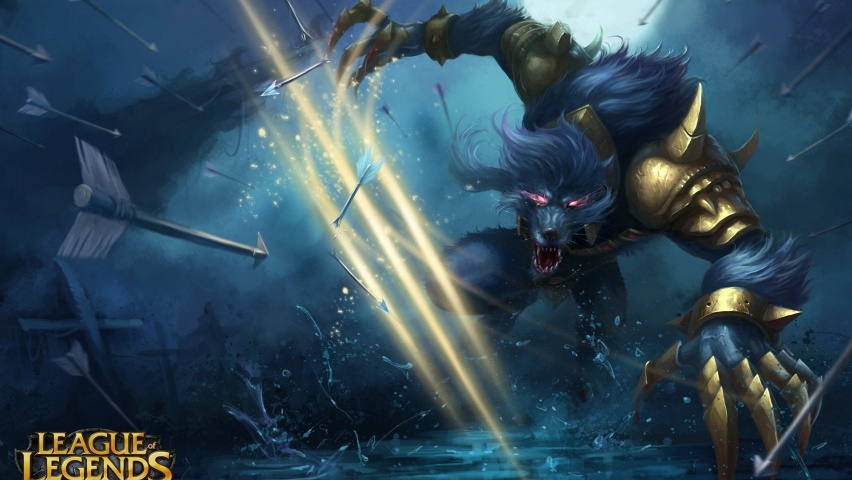 825x315 League of Legends Warwick Facebook Cover Photo