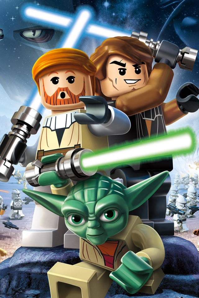 640x960 Lego Star Wars 3: Clone Wars desktop PC and Mac ...