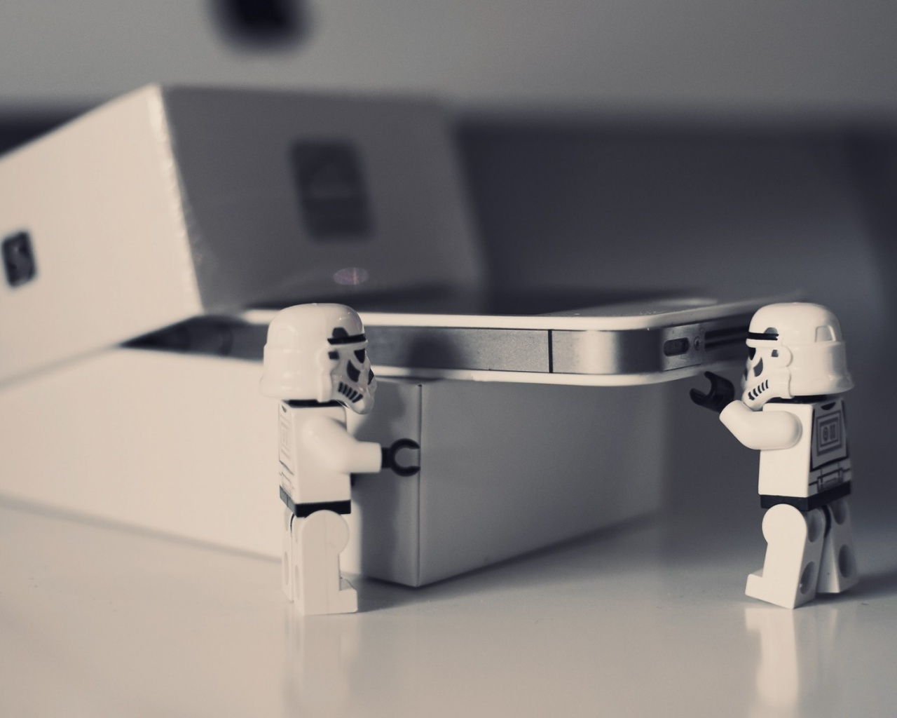 lego star wars iphone 4 unboxing