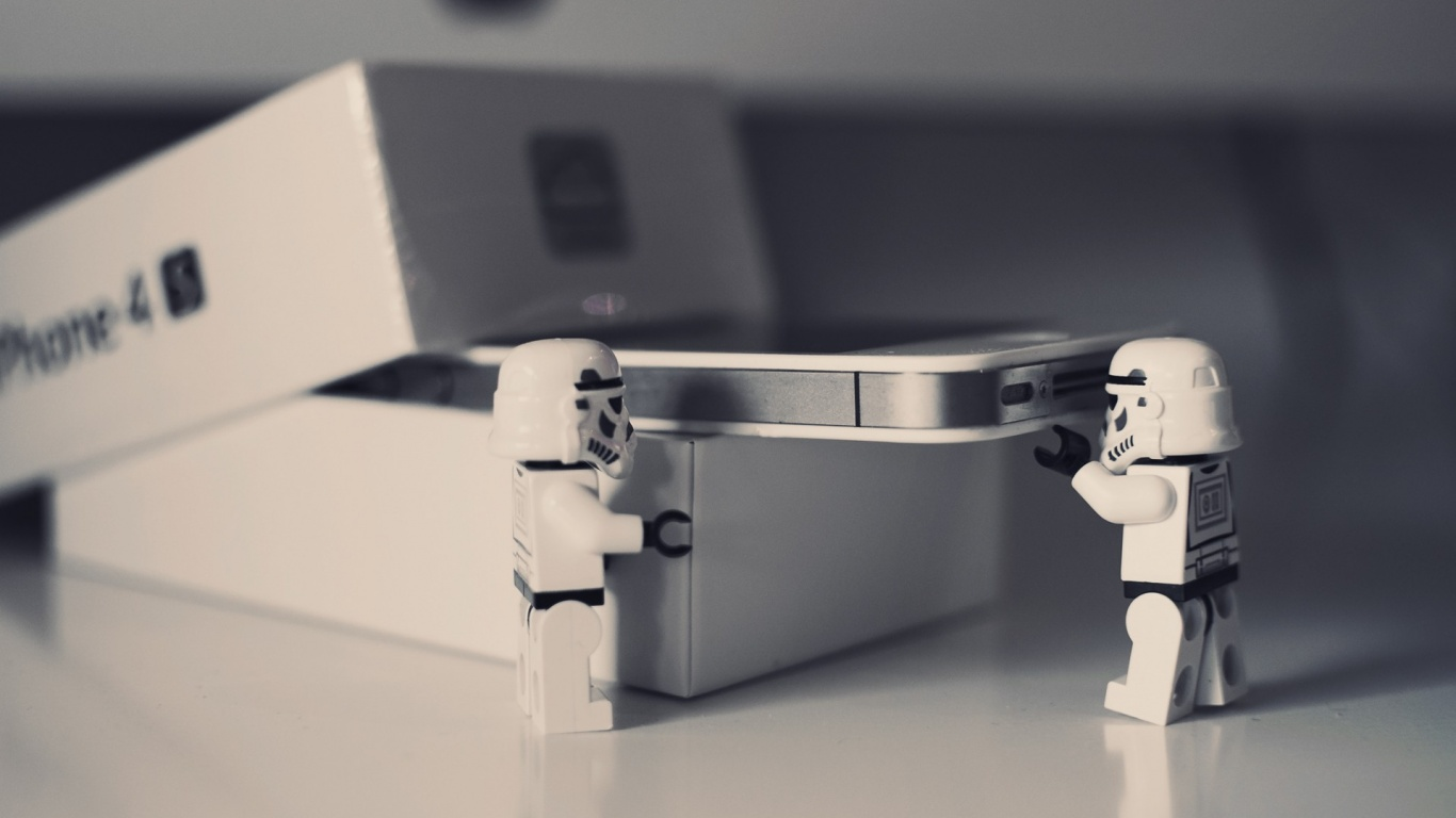 1366x768 Lego Star Wars Iphone 4 Unboxing Desktop Pc And