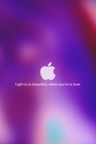 320x480 Light Is So Beautiful Iphone 3g Wallpaper