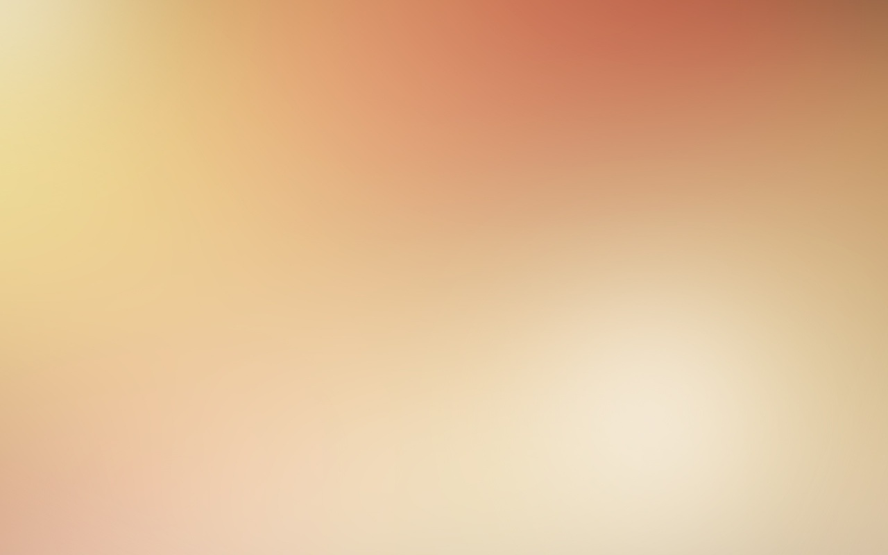 Light Orange Gaussian Blur Desktop And Mobile Wallpaper