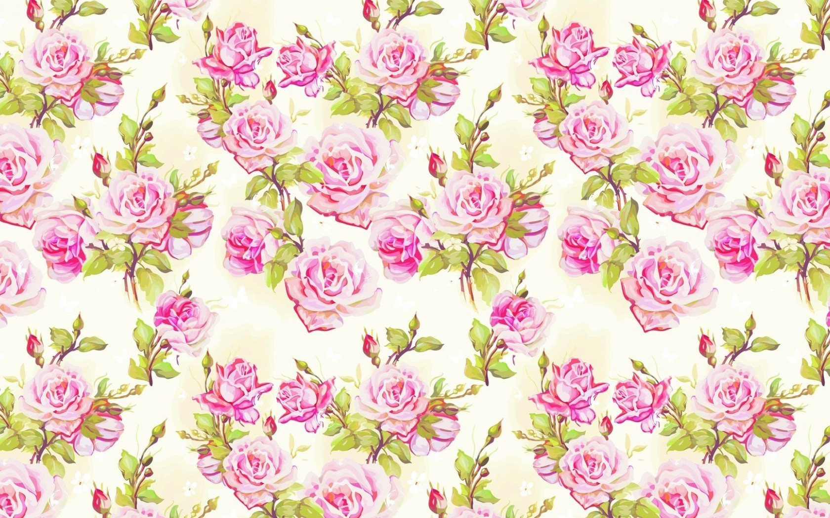 Image Light Pink Roses Pattern Wallpapers And Stock Photos