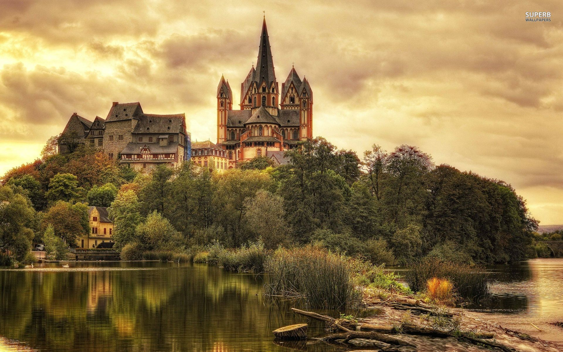 Limburg cathedral germany wallpapers limburg cathedral - Cochem alemania ...