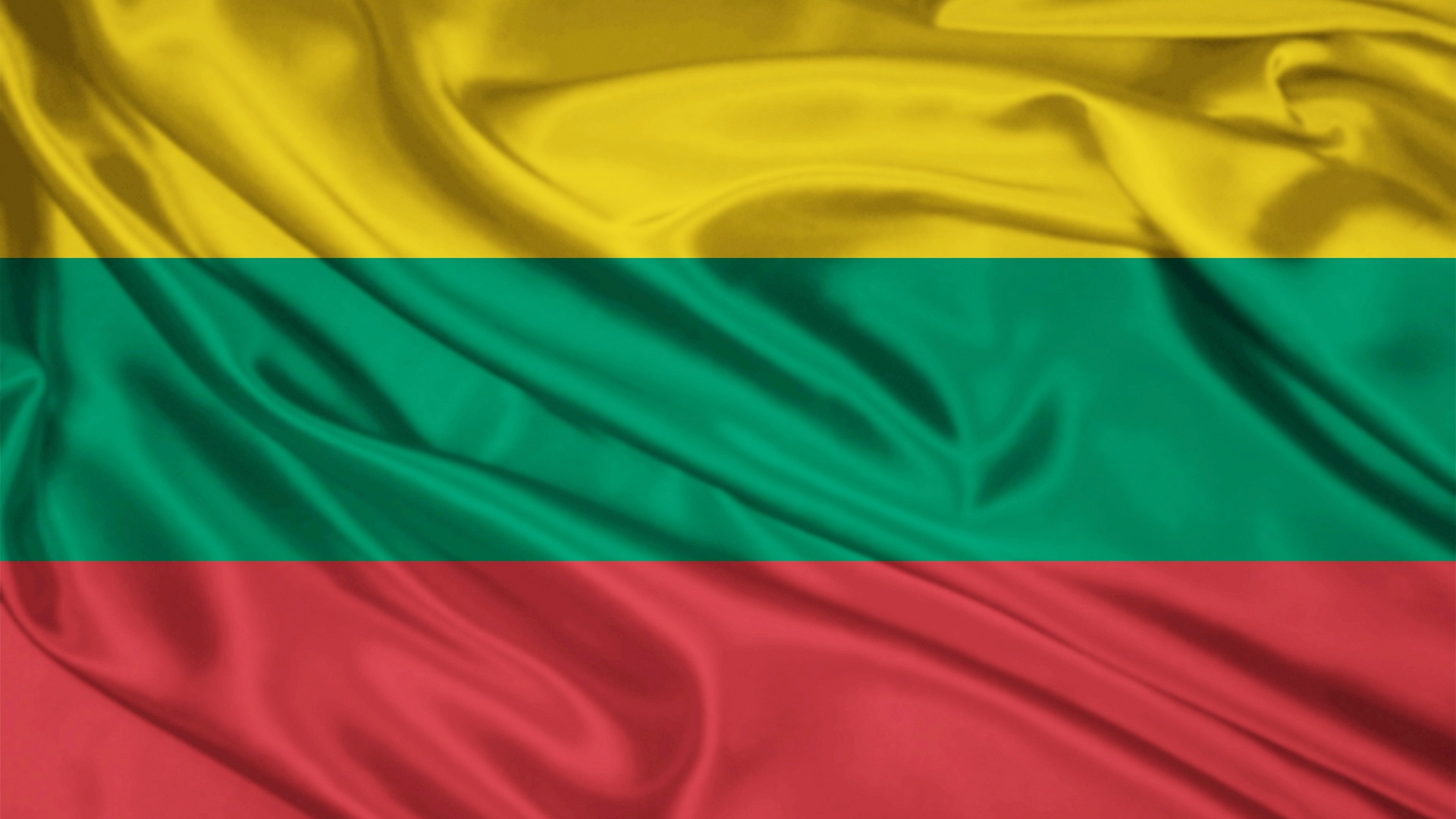 1920x1080 Lithuania Flag Desktop PC And Mac Wallpaper