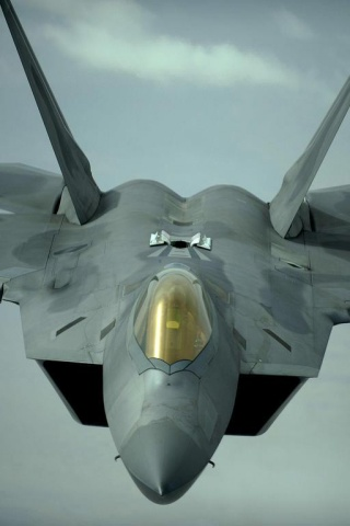 320x480 Lockheed Martin F 22 Raptor Iphone 3g Wallpaper