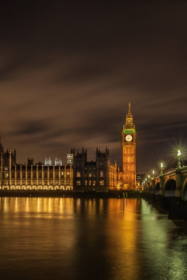 640x960 London Palace Of Westminster Desktop Pc And Mac