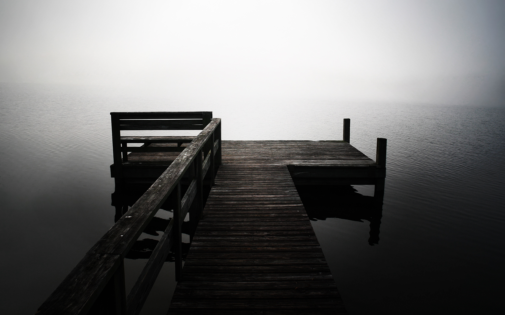 Lonely Pier wallpapers | Lonely Pier stock photos
