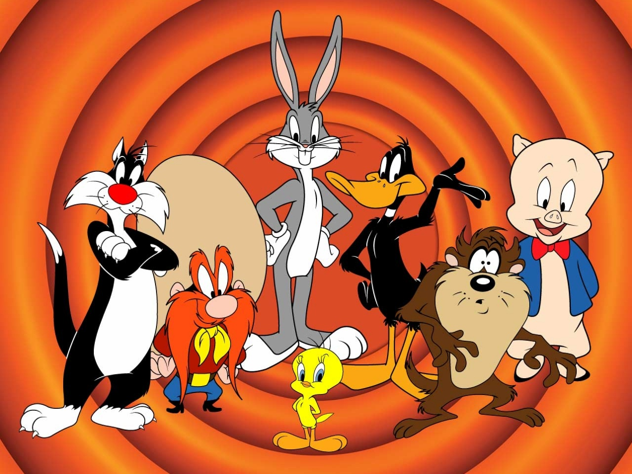 1280x960 Looney Tunes Three