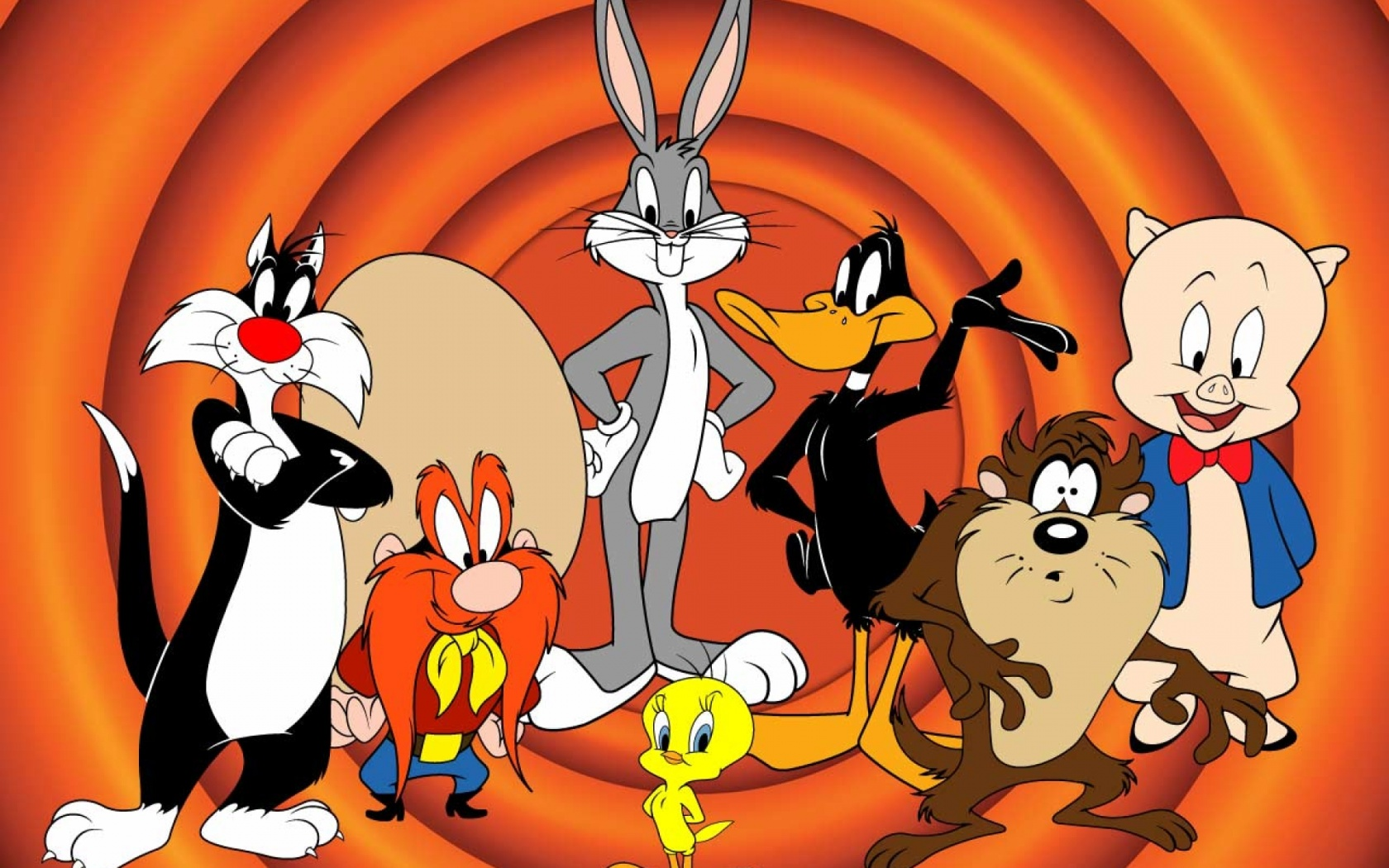 1680x1050 Looney Tunes Three