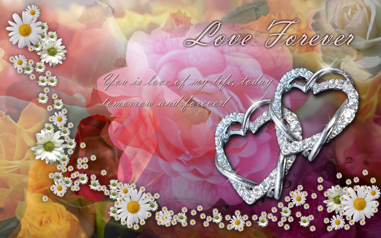 Love Forever Wallpapers : 1440x900 Love Forever desktop Pc and Mac wallpaper
