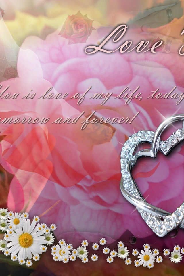 Love Forever Wallpapers : 640x960 Love Forever Iphone 4 wallpaper