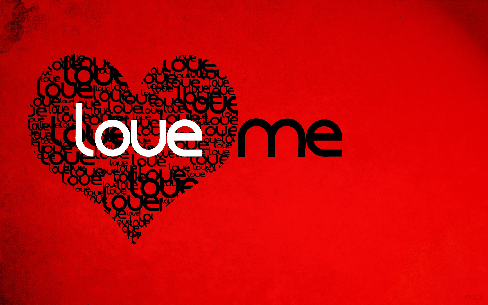 Love Your Wallpaper : 1680x1050 Love me desktop Pc and Mac wallpaper
