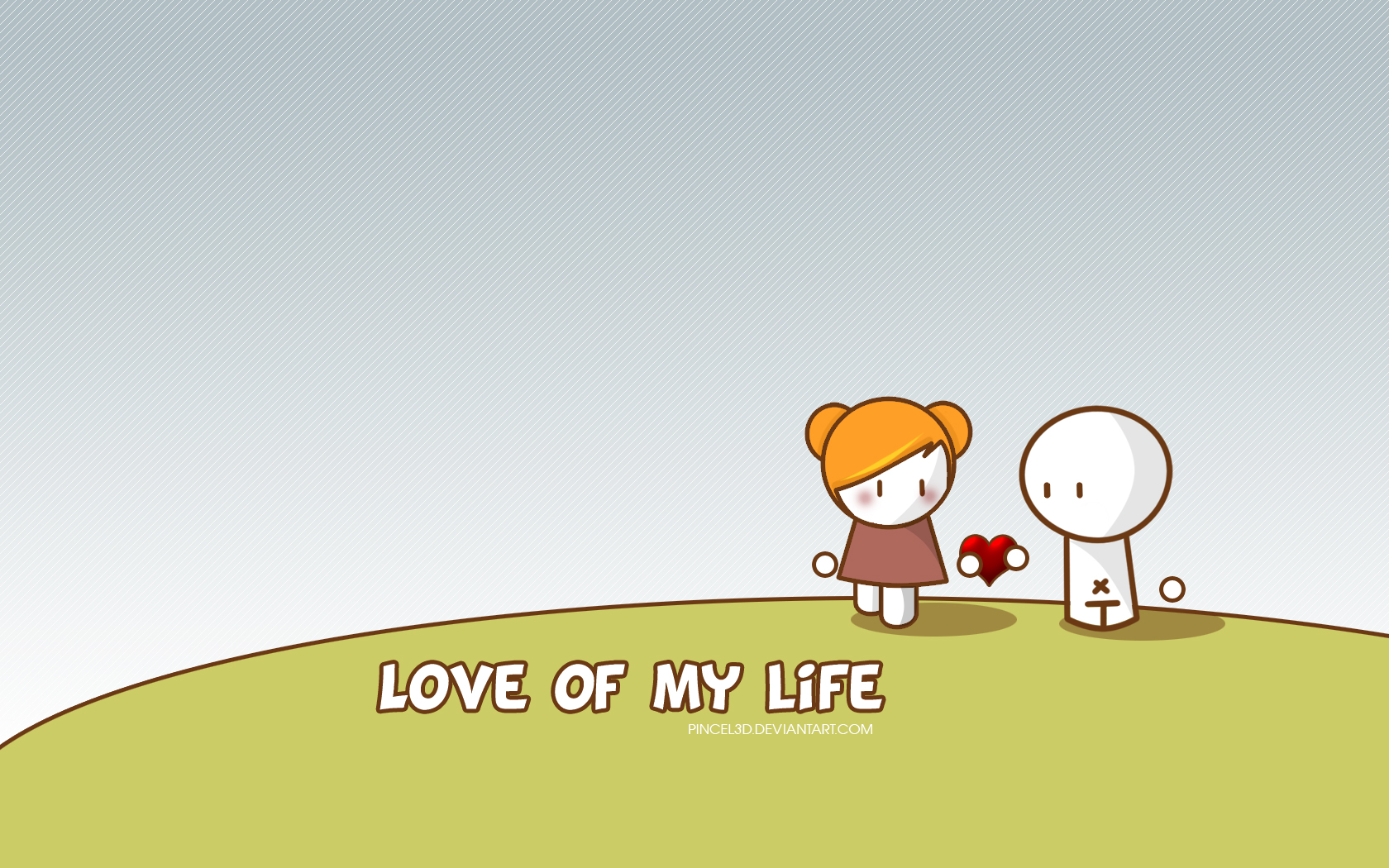 Love Is End Of Life Wallpaper : 1680x1050 Love of my life desktop Pc and Mac wallpaper