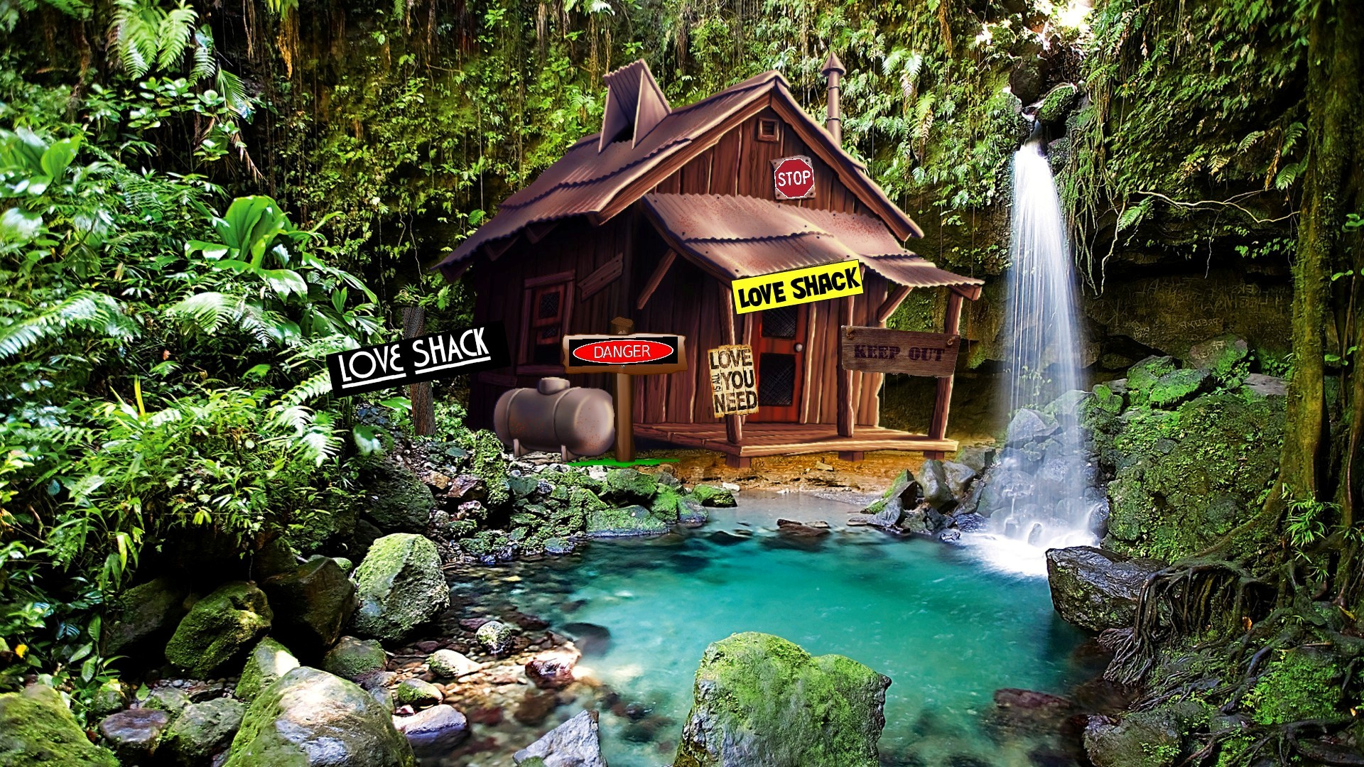 1920x1080 love shack desktop pc and mac wallpaper for The love shack cabin