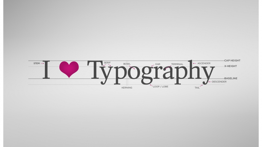 825x315 Love Typography