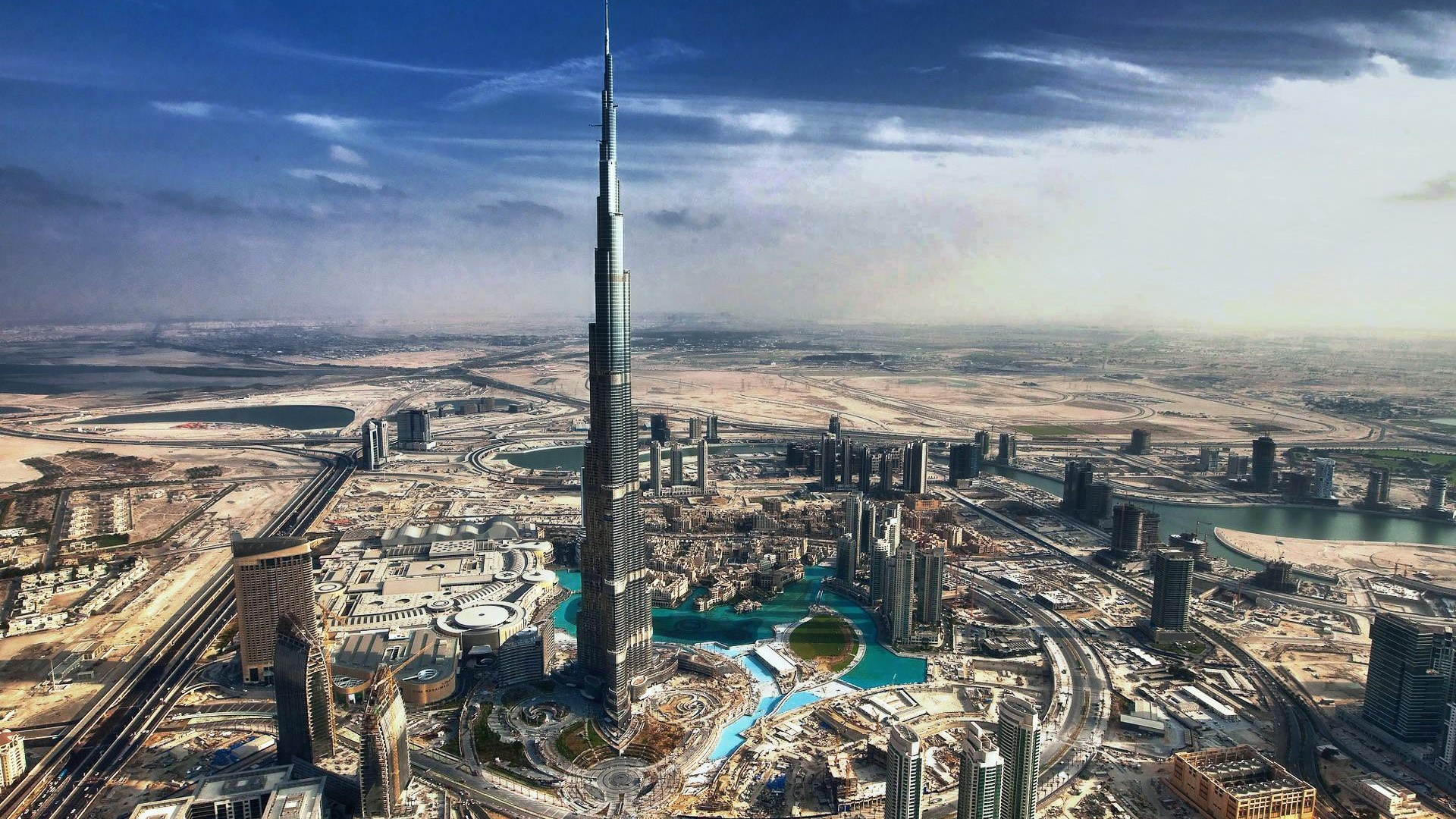 1920x1080 lovely burj khalifa dubai desktop pc and mac for Home wallpaper uae
