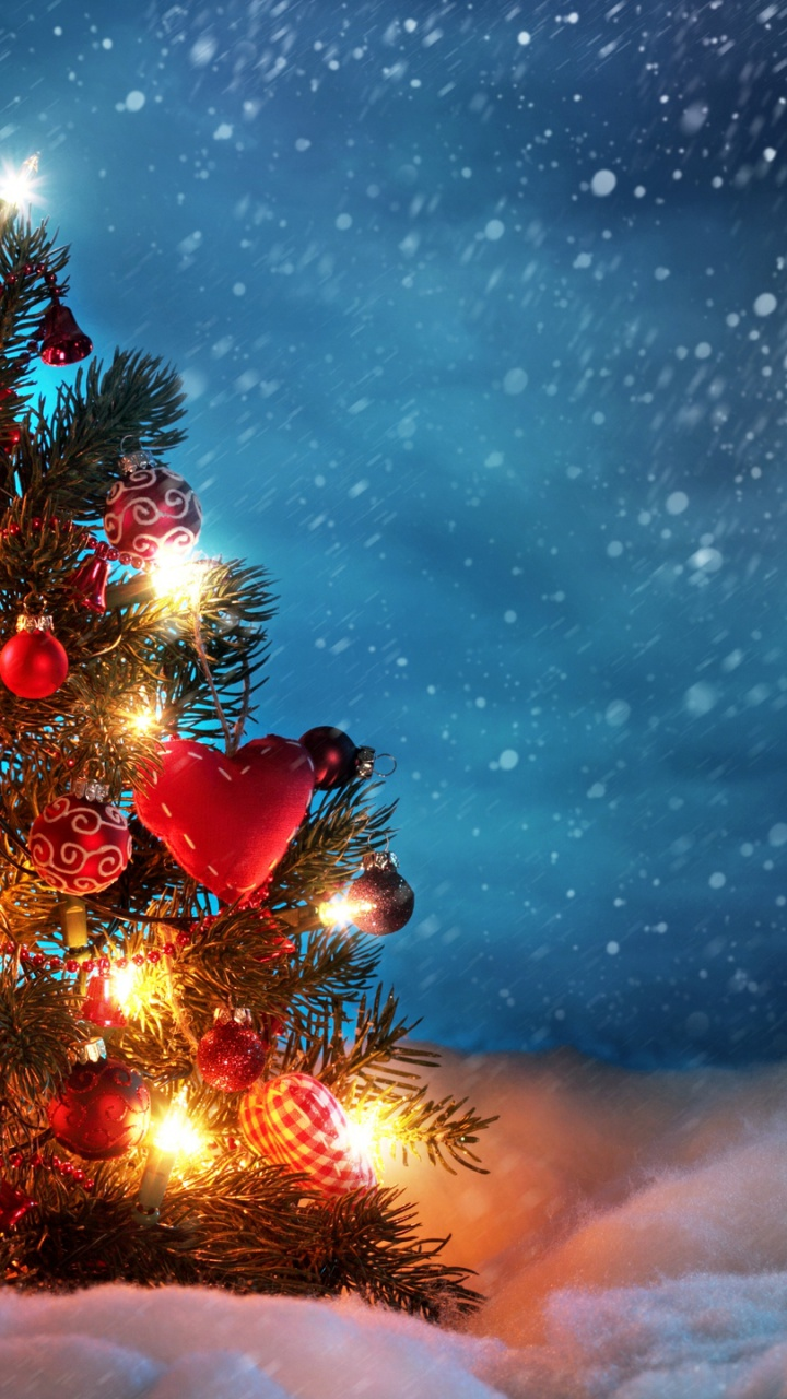 720x1280 lovely christmas tree galaxy s3 wallpaper - Galaxy christmas wallpaper ...