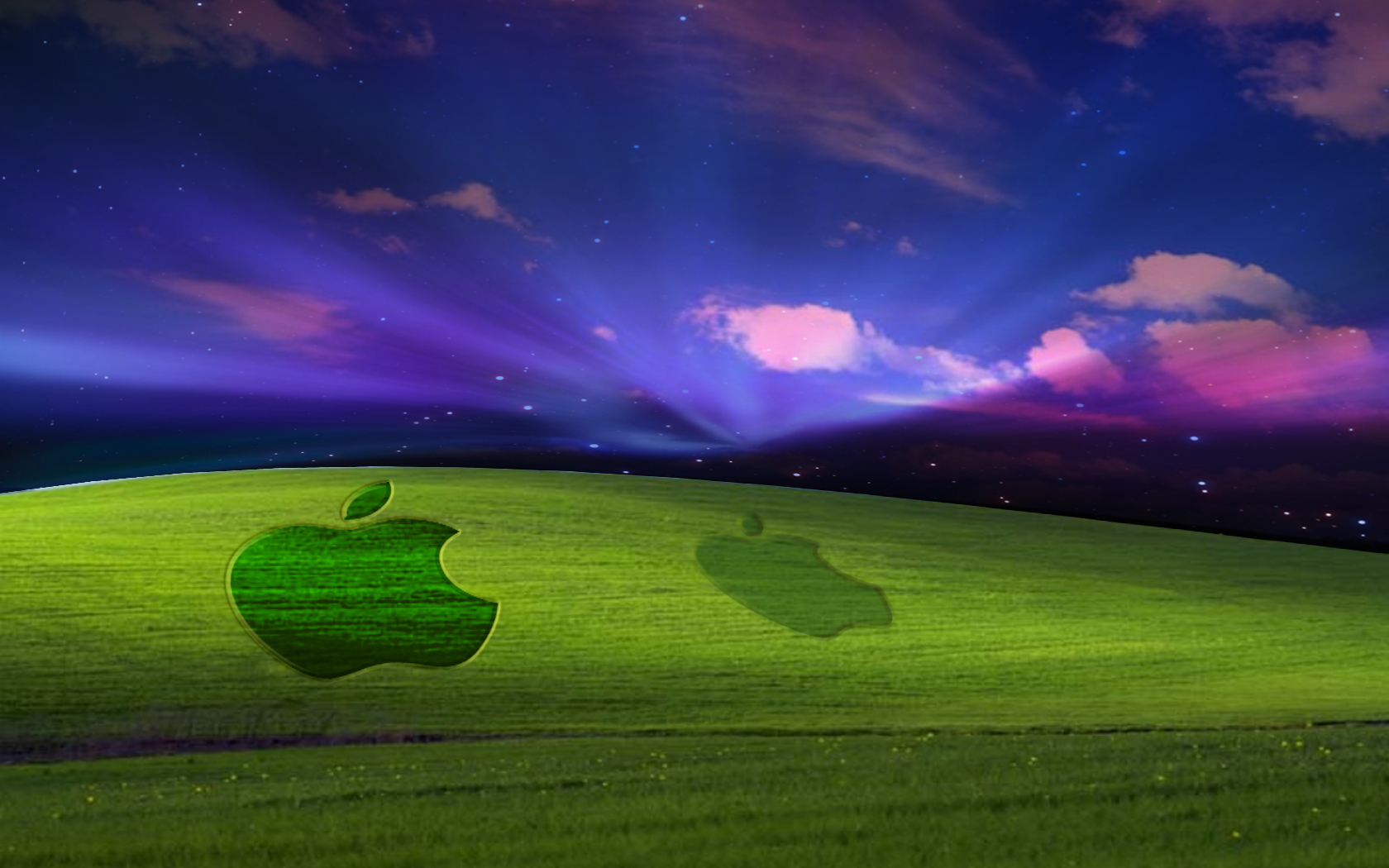 Mac On Windows Turf WIDE Wallpapers