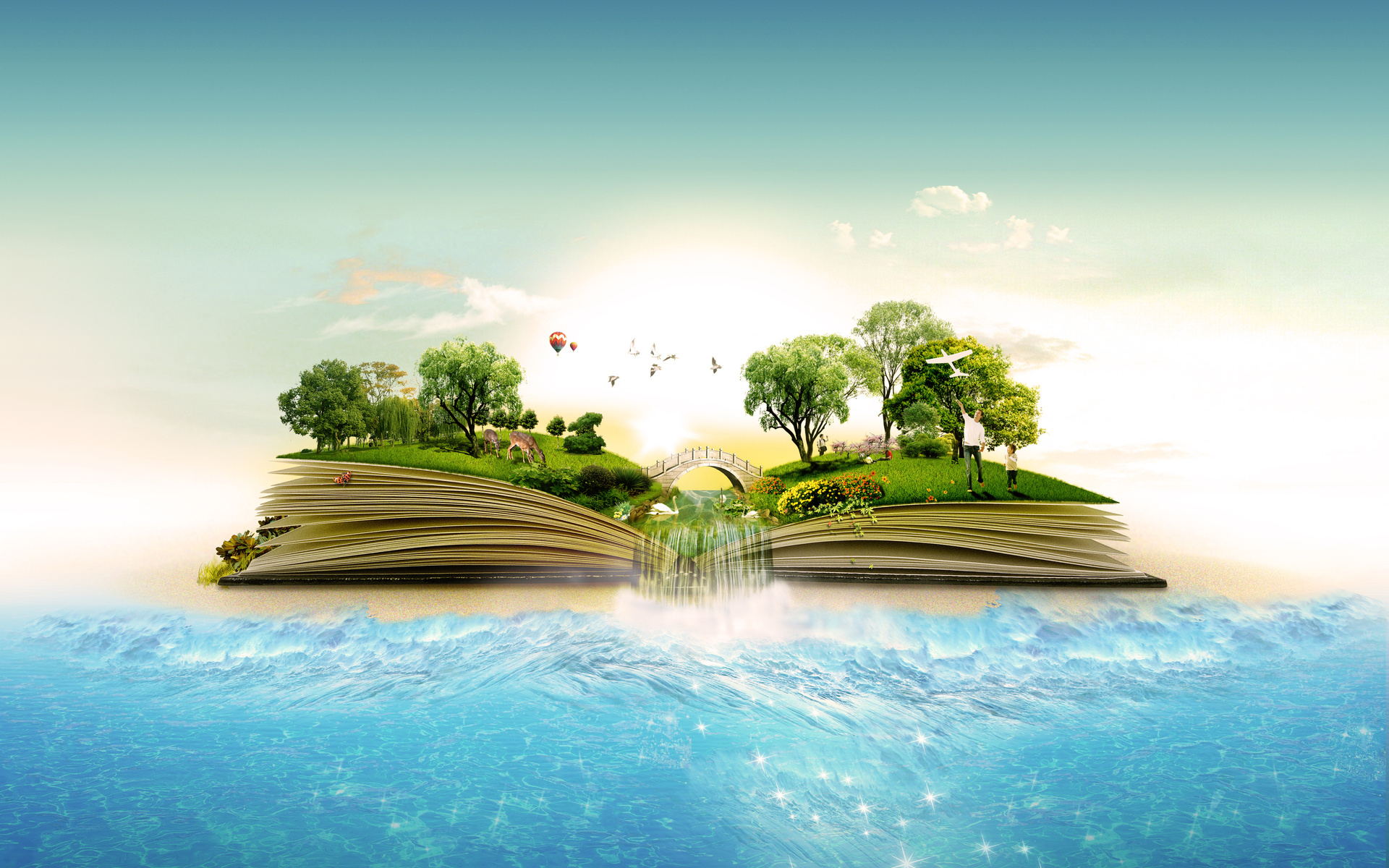 magical jungle book & ocean wallpapers | magical jungle book & ocean