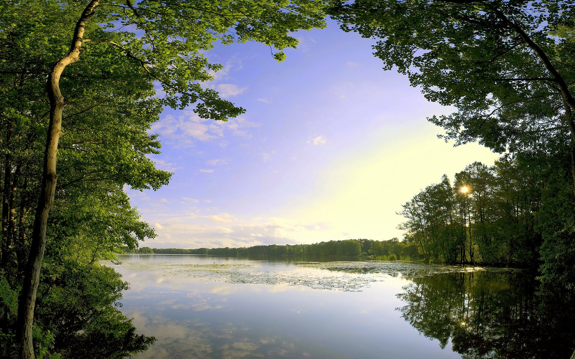 Majestic Lake Amp Nice Forest Wallpapers Majestic Lake