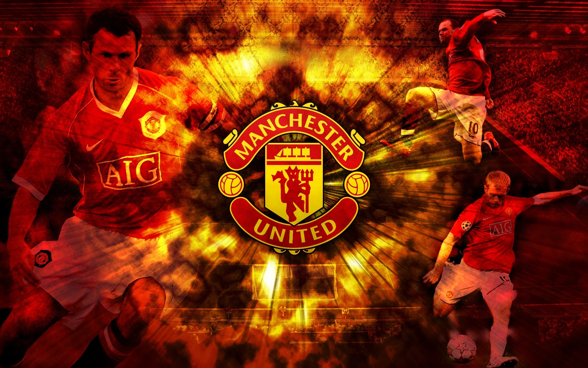 1920x1200 manchester united desktop pc and mac wallpaper