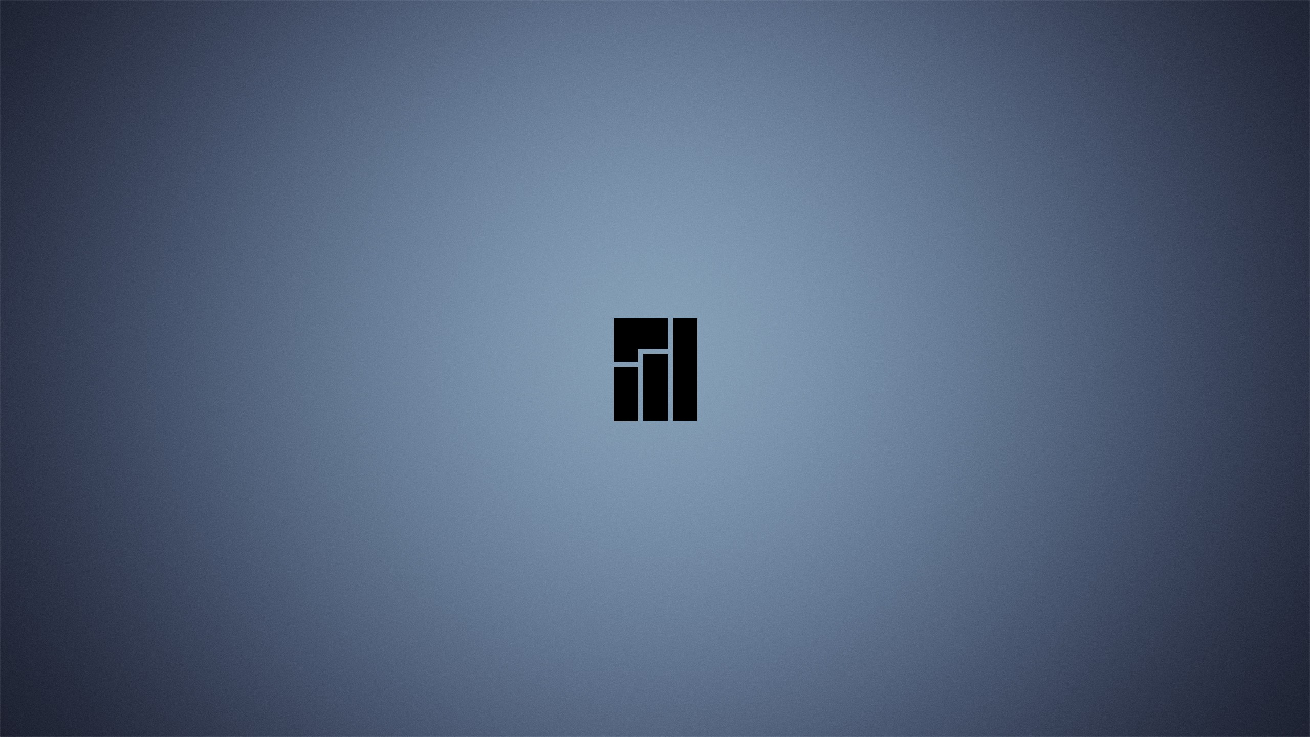 2560x1440 Manjaro Linux Logo YouTube Channel Cover