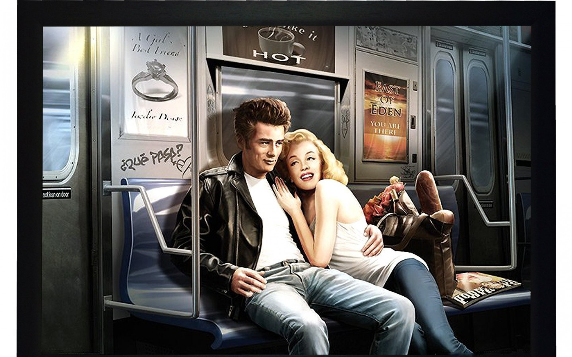 marilyn monroe und james dean hintergrundbilder marilyn monroe und james dean frei fotos. Black Bedroom Furniture Sets. Home Design Ideas