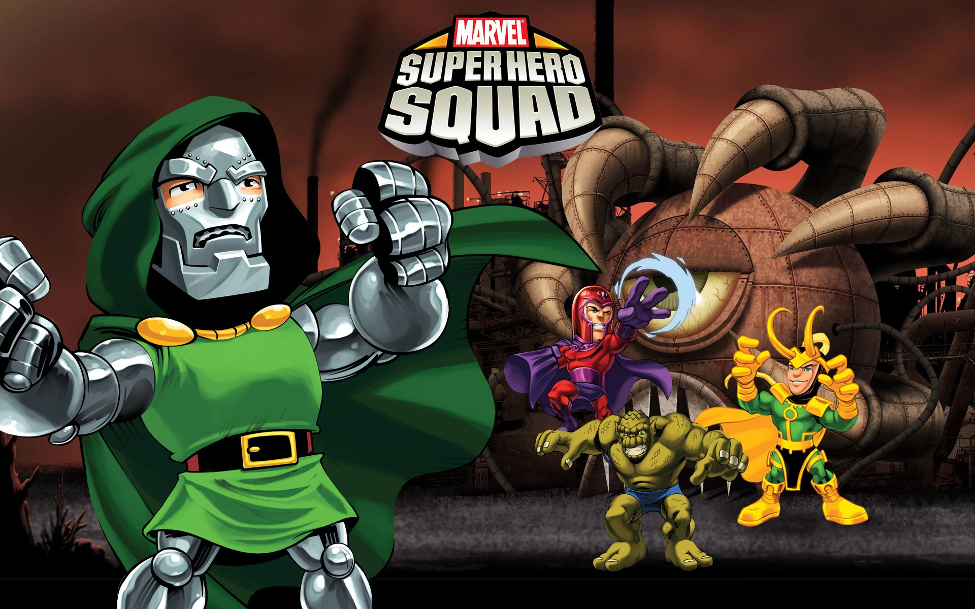 Wallpaper Calendar Superhero : Marvel superhero squad wallpapers