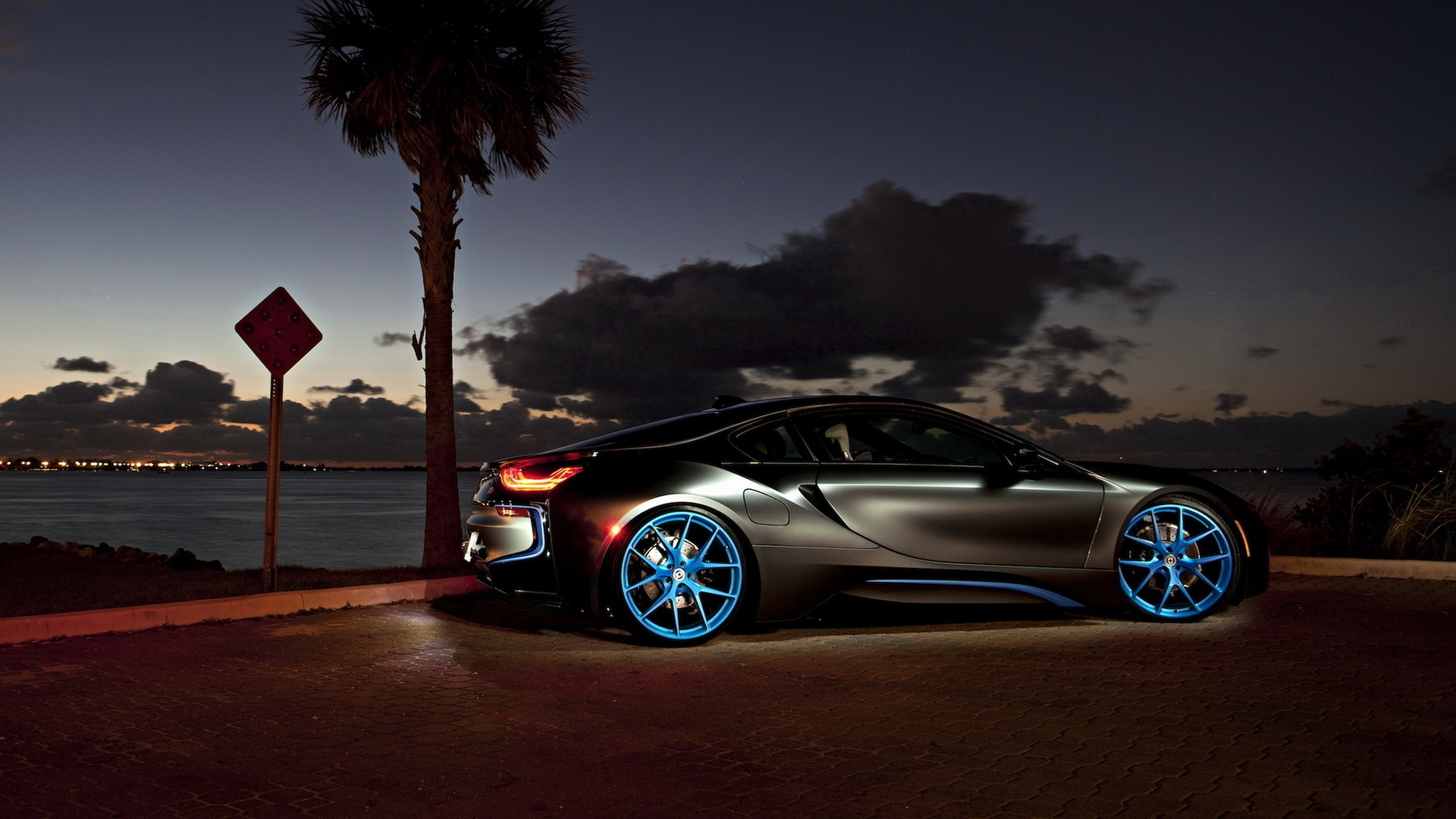 1920x1080 Matte Silver Bmw I8 Desktop Pc And Mac Wallpaper
