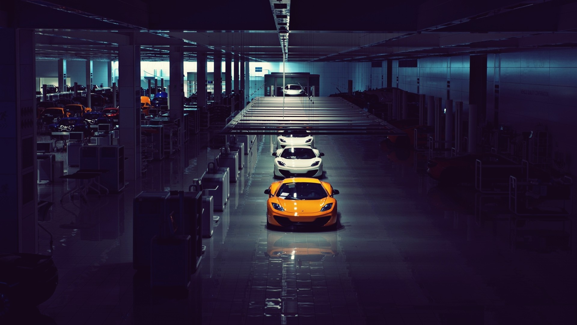 1920x1080 mclaren mp4 12c assembly line desktop pc and mac for Wallpaper home line