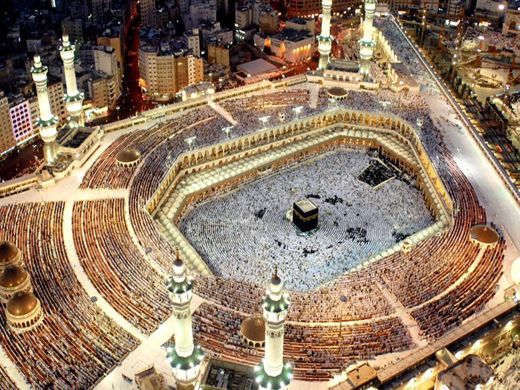 Mecca from above