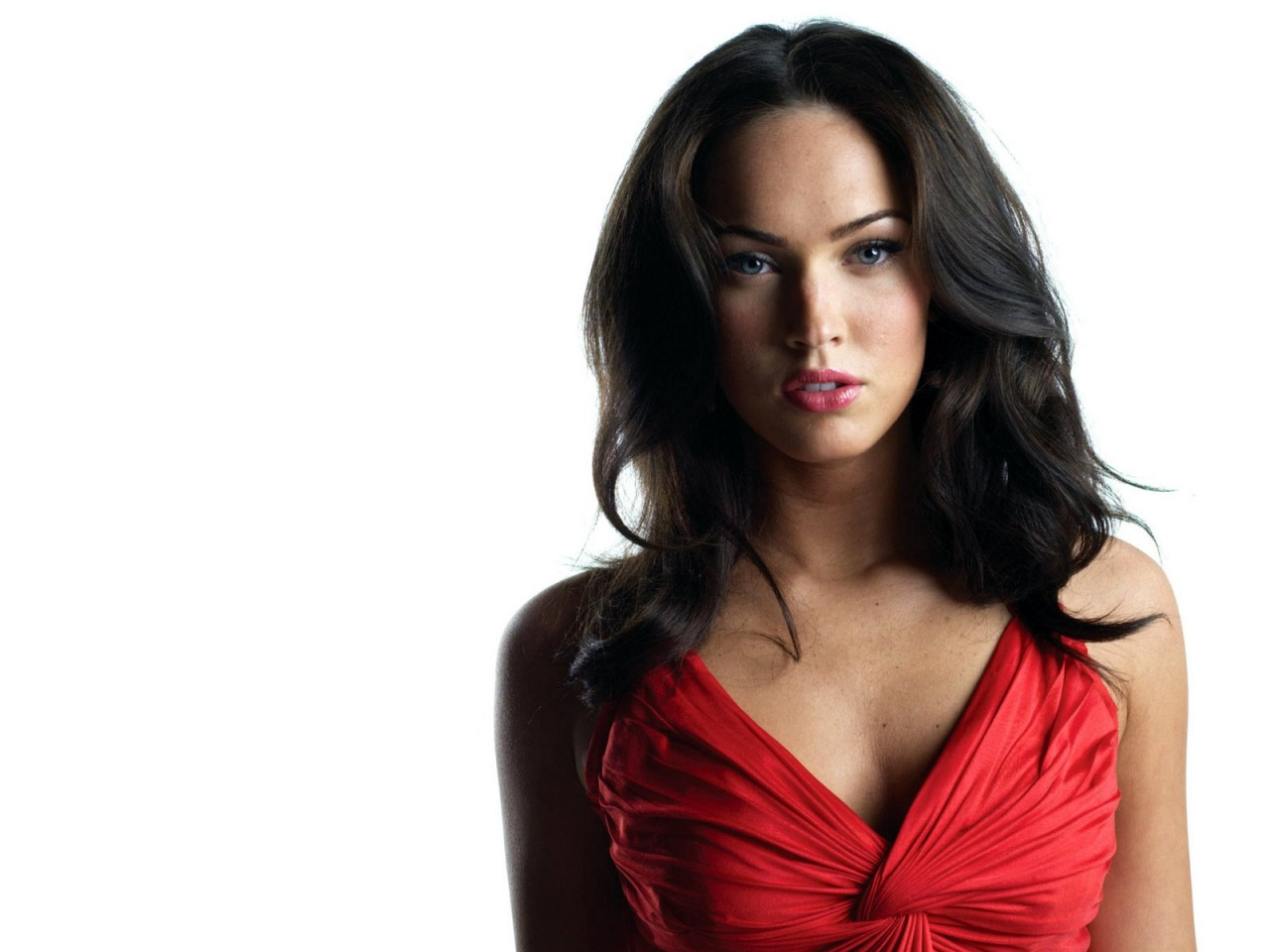 Megan Fox Supergirl Body Paint