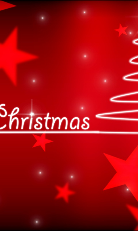 480x800 Merry Christmas, love, create