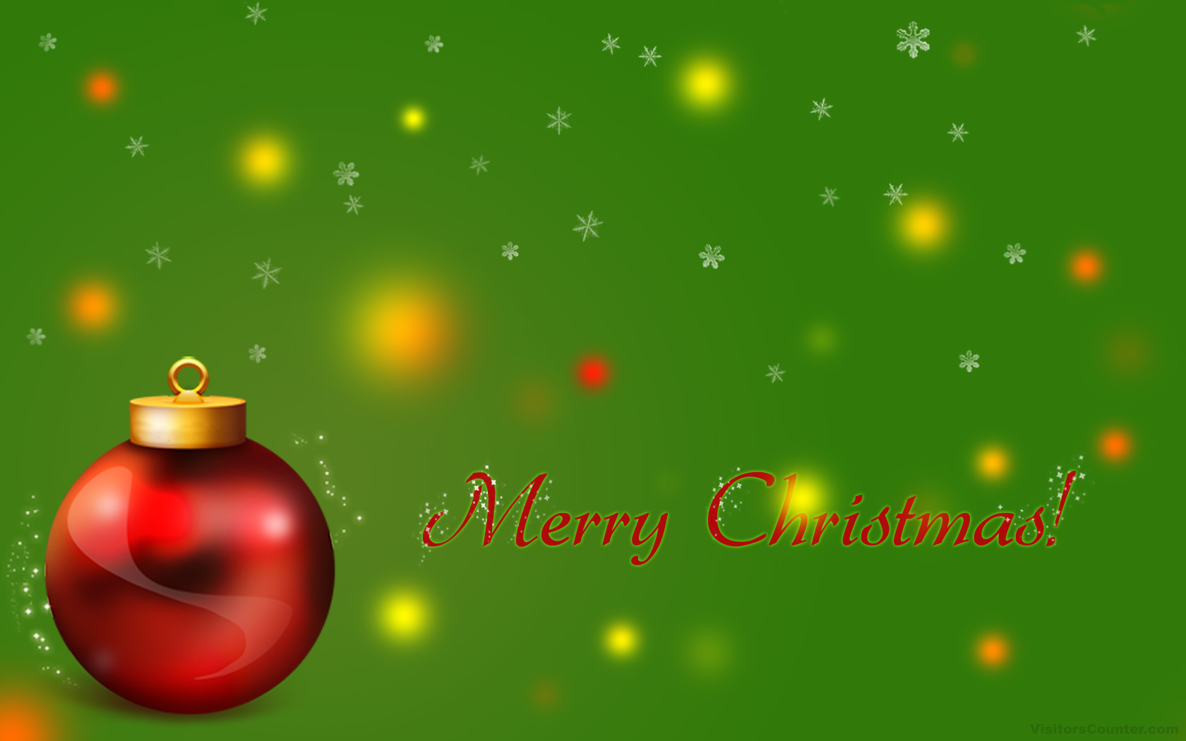 1680x1050 Merry Christmas desktop PC and Mac wallpaper