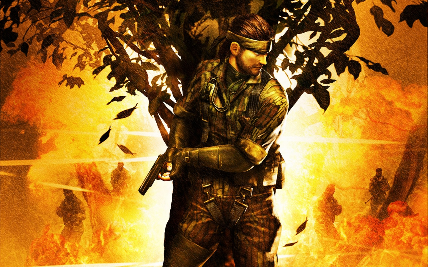 1440x900 metal gear solid snake eater desktop pc and mac