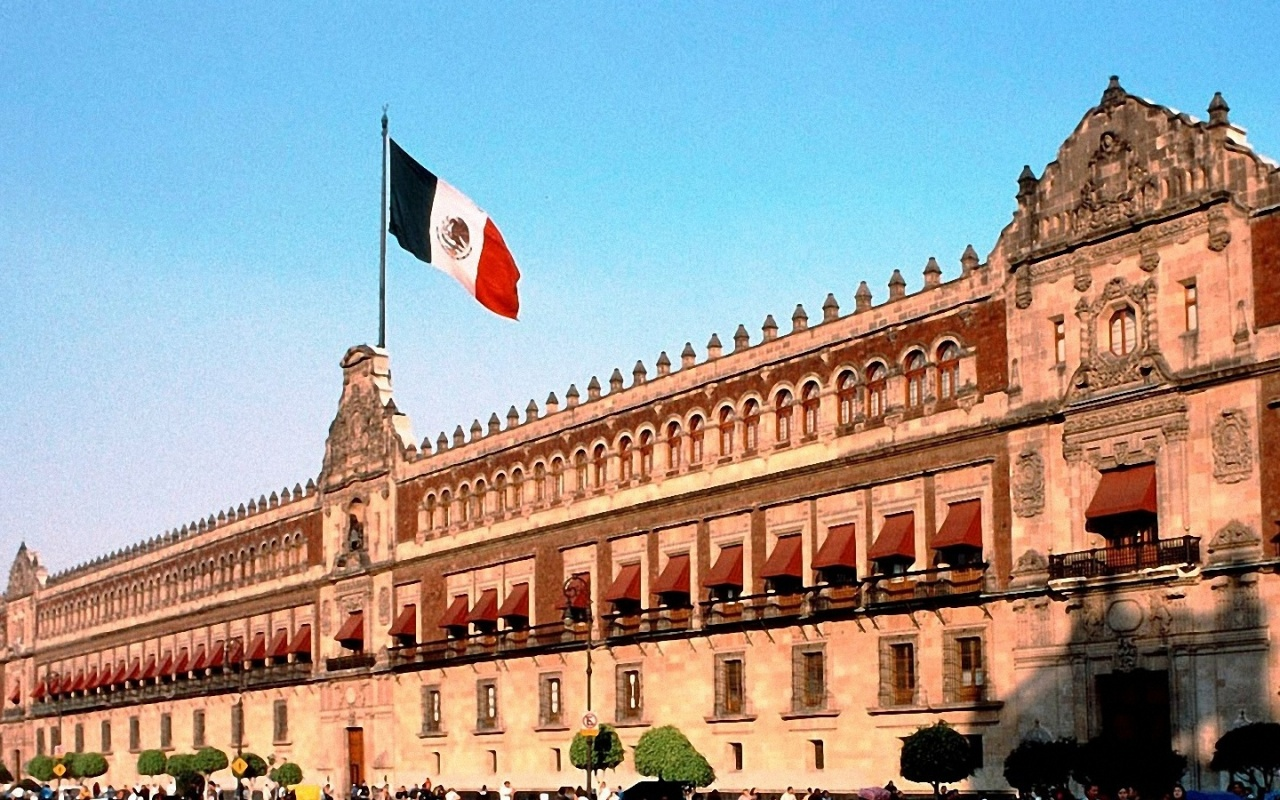 1280x800 Mexico City Flag