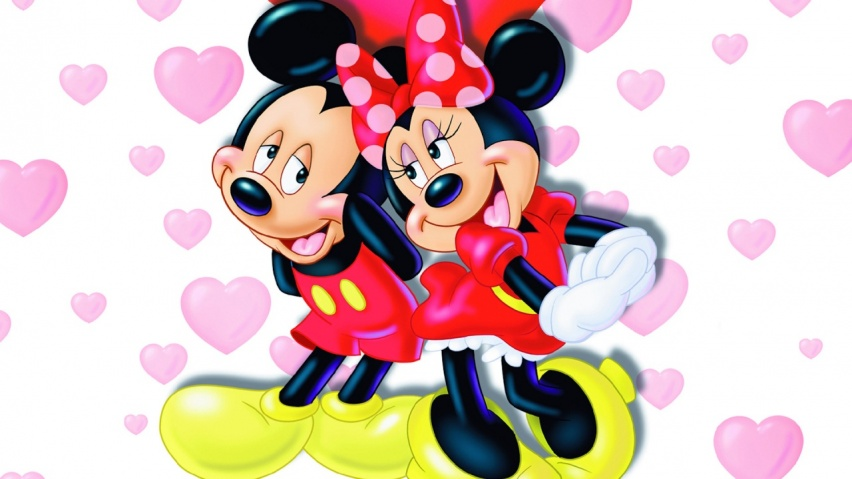 mickey wallpapers. 852x480 mickey and minnie