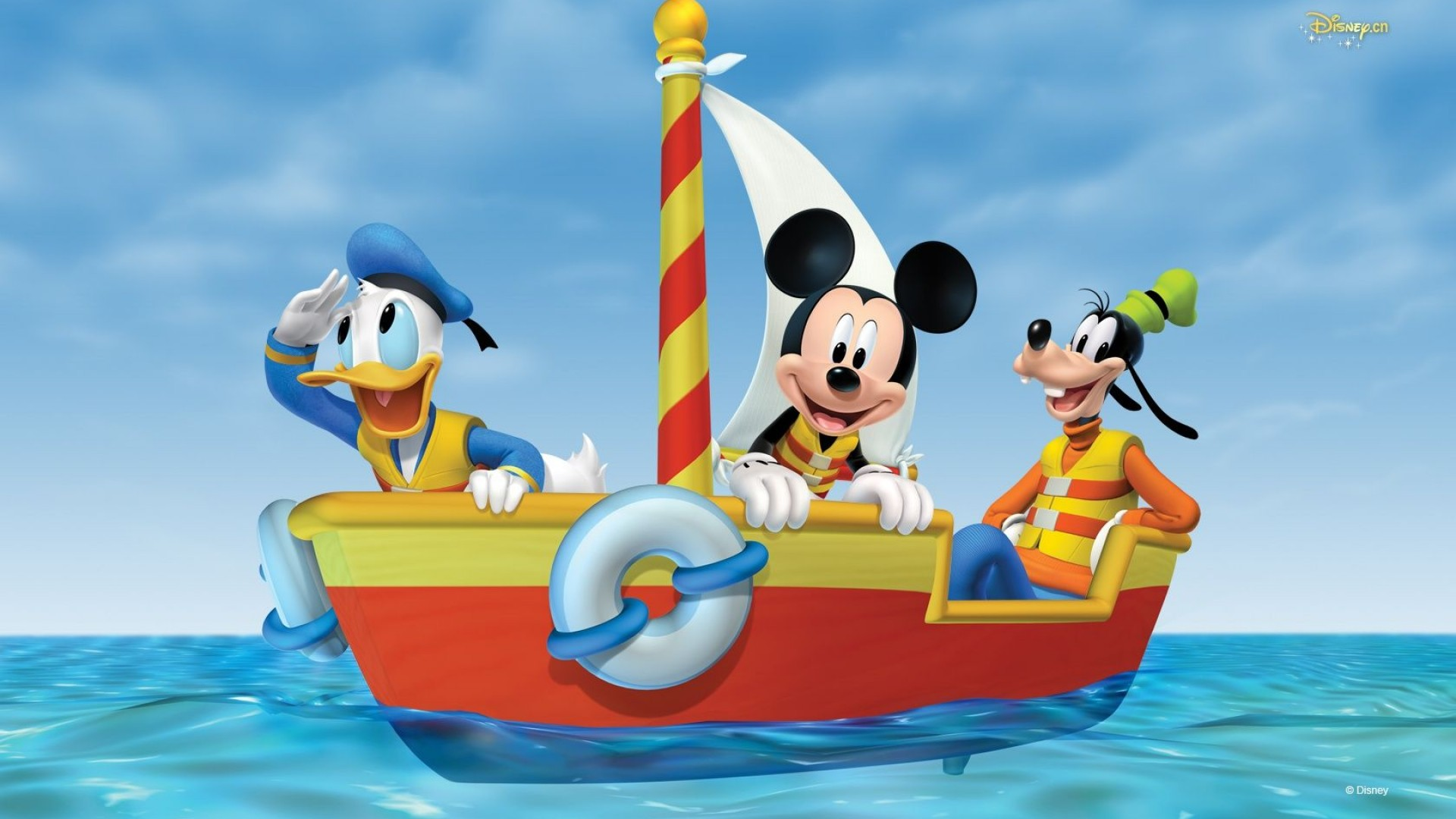 1920x1080 Mickey Mouse Clubhouse Desktop Pc And Mac Wallpaper