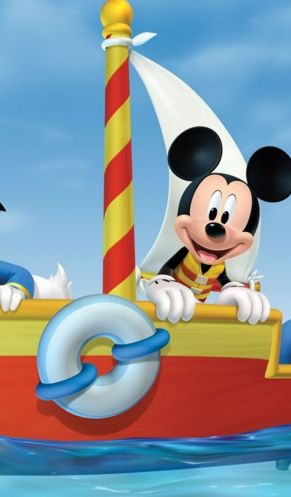 600x1024 Mickey Mouse Clubhouse Galaxy Tab 2 Wallpaper